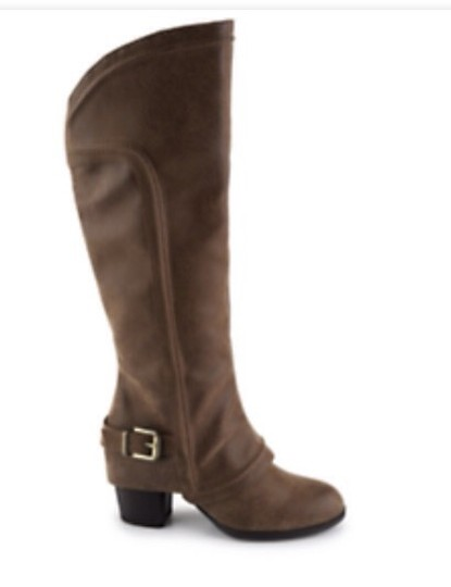 Fergalicious by Fergie Brown Boots Image 1