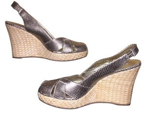 Via Spiga Sandal silver Wedges