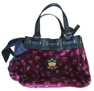 Juicy Couture Tote in Purple Floral