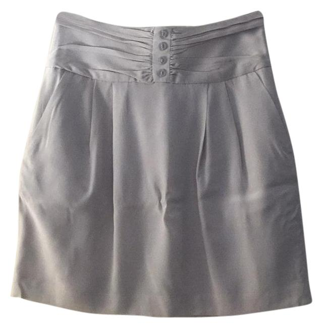 Club Monaco Mini Skirt Nude