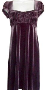Free People Velour Evening Dress