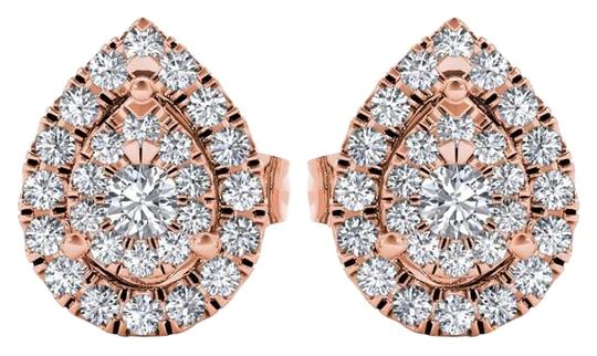 Preload https://img-static.tradesy.com/item/17807803/10kt-rose-gold-025-ct-diamond-pear-shape-stud-earrings-0-1-540-540.jpg