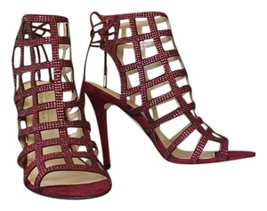 BCBGMAXAZRIA Burgandy Sandals