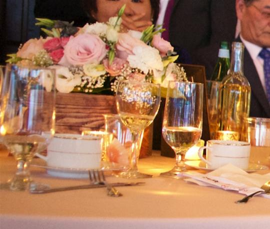 Gold Blush Pink Coral White Blue Items Reception Decoration