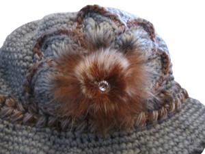 New never worn soft warm fleece lined winter hat with Style!