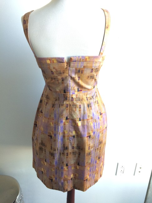 Richard Chai short dress purple Cotton Sundress Graphic on Tradesy