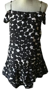 Club Monaco short dress Black and white on Tradesy