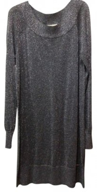 Preload https://item3.tradesy.com/images/michael-kors-grey-mk-shimmery-mid-length-night-out-dress-size-12-l-178097-0-0.jpg?width=400&height=650