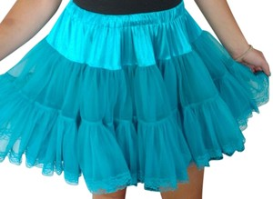 Betsey Johnson Mini Skirt Blue