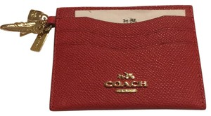 Coach Lucky Red Credit CardHolder