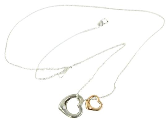 Preload https://img-static.tradesy.com/item/17810101/tiffany-and-co-sterling-silver18k-rose-gold-elsa-peretti-two-hearts-necklace-0-3-540-540.jpg