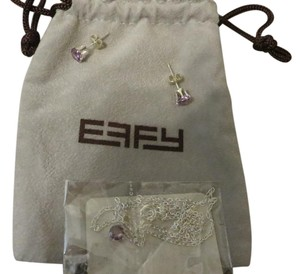 EFFY EFFY Pendant Necklace Earrings Set