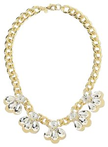 Banana Republic Banana Republic Chain Reaction Petal Glamour Necklace P Sold Out
