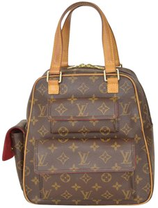 Louis Vuitton Monogram Sac Bosphore Attache Satchel in Brown
