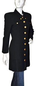 Tempo Paris Military Style Black Blazer
