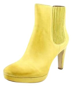 Ecco Yellow Boots