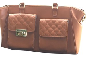 Segolene Paris Caramel Brown Clutch