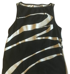 A|X Armani Exchange Zebra Top Black