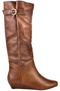 Steve Madden Brown, Cognac, Saddle Boots