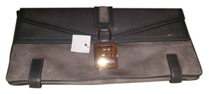 Loves alex Light grey and dark grey Clutch