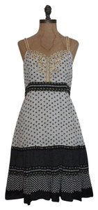 Free People short dress FLORAL Romantic Flare Tea Beaded on Tradesy