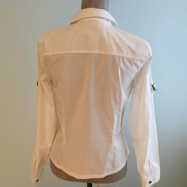 Calvin Klein Blouses Tops Tops Button Down Shirt White