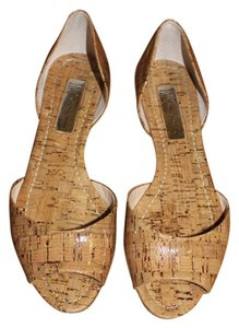INC International Concepts Natural Cork Flats