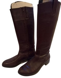 Ralph Lauren Classic Leather Chic Brown Boots