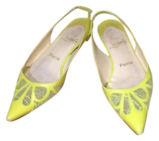 Preload https://img-static.tradesy.com/item/17812765/christian-louboutin-lime-green-slingback-flats-size-us-65-regular-m-b-0-1-540-540.jpg