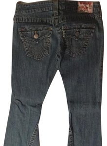True Religion Designer Denim Japanese Denim Flare Leg Jeans