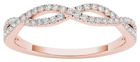 Preload https://img-static.tradesy.com/item/17812993/10kt-rose-gold-diamond-criss-cross-ring-0-1-540-540.jpg