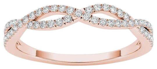 Preload https://img-static.tradesy.com/item/17813056/10kt-rose-gold-diamond-criss-cross-ring-0-1-540-540.jpg
