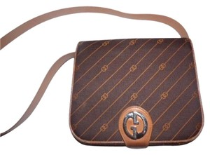 Gucci Rare Style Early High-end Bohemian Two-tone Gg Snap Anniversary Shoulder Bag