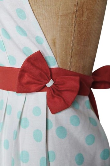 Anthropologie Turquoise Lots O' Dots Apron Other