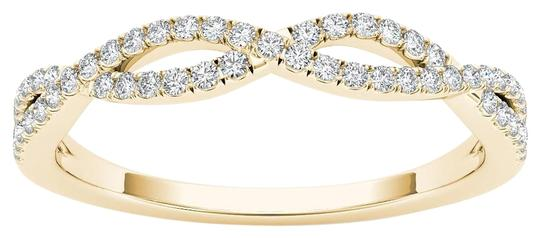 Preload https://img-static.tradesy.com/item/17813419/10kt-yellow-gold-diamond-criss-cross-ring-0-1-540-540.jpg