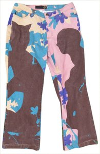 Roberto Cavalli Just Wide Leg Pants Multi-color
