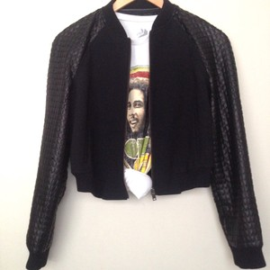 Banana Republic Bomber Black Jacket