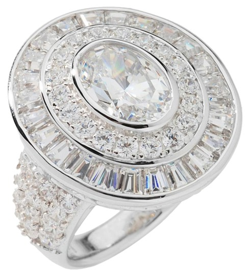 Preload https://img-static.tradesy.com/item/17813905/jean-dousset-clear-574ct-absolute-simulated-diamond-multicut-3-row-oval-size-7-ring-0-1-540-540.jpg