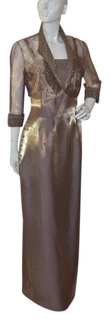 Preload https://img-static.tradesy.com/item/17813908/alex-evenings-bronze-mother-of-the-bride-long-formal-dress-size-os-one-size-0-1-650-650.jpg