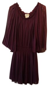 M.S.S.P. Pleated Flowy Flapper Dress