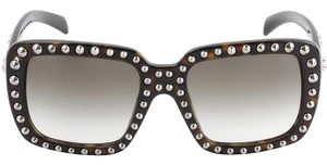 Prada BRAND NEW PRADA ABSOLUTE ORNATE SQUARE OVERSIZED STUDDED SUNGLASSES BRAND NEW WITH PRADA CASE CLEANING CLOTH AND PAPERWORK SOLD OUT EVERYWHERE