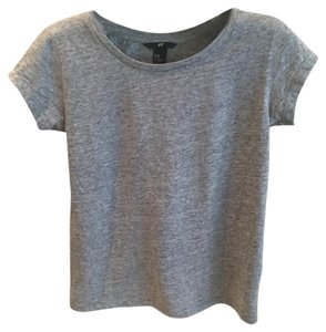 H&M T Shirt Grey