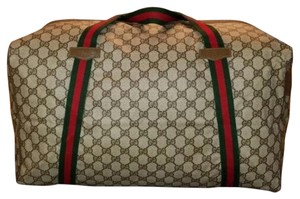 Gucci Tan Travel Bag