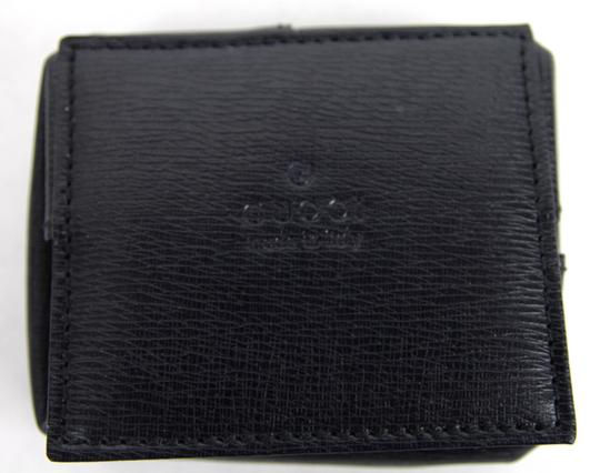 Gucci New Navy Blue Coin Pokect Wallet w/Inner Paisley Design 337837 4093