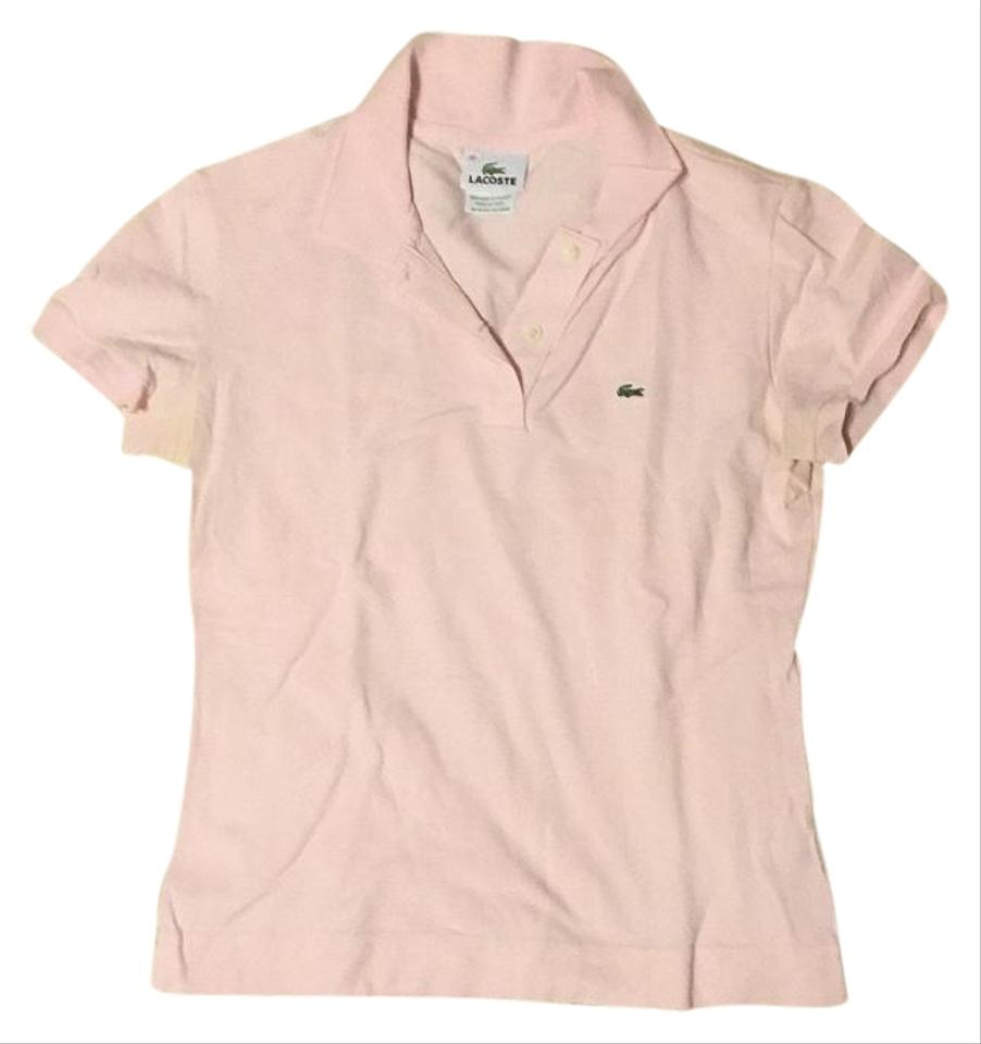 Lacoste light pink polo button down shirt for Pastel pink button down shirt
