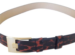 Via Spiga Via Spiga Animal Print Belt