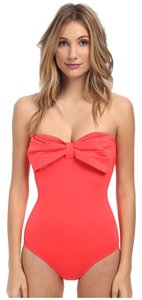 Kate Spade Kate Spade New York Bandeau Maillot W/ Removable Soft Cups and Straps Size S (SMALL)