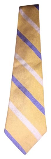Preload https://img-static.tradesy.com/item/17815216/brooks-brothers-yellowceruleancream-vintage-silk-men-s-tie-made-in-usa-scarfwrap-0-1-540-540.jpg
