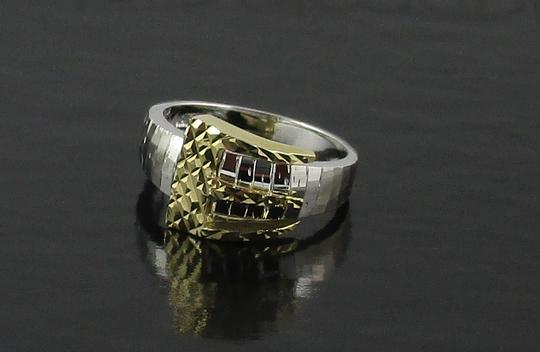 Michael Anthony Michael Anthony Jewelry Buckle-Design Textured Ring - Size 6
