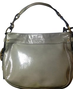 Coach Patent Leather Leather Hobo Bag